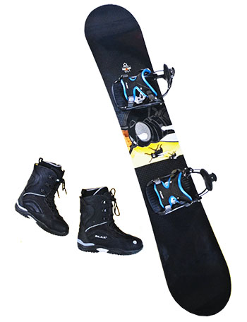Snowboard rentals for adults